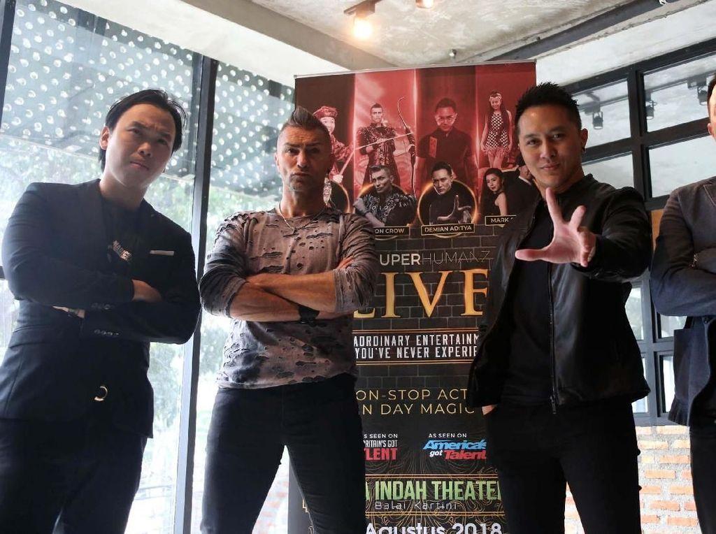 Pesulap Dunia Siap Menyihir Jakarta