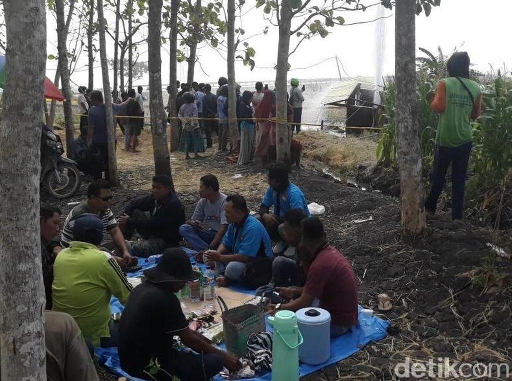 Kisah Ganjil di Balik Semburan Air dan Pembangunan Tol di Ngawi
