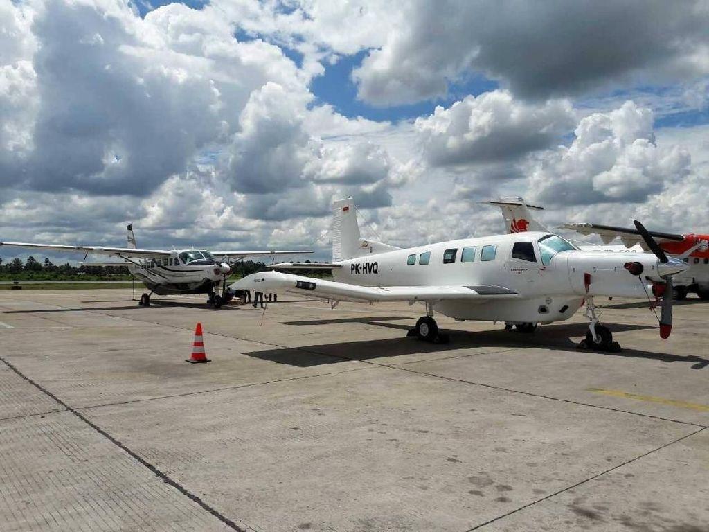8 Orang Tewas, Begini Evakuasi Kecelakaan Pesawat Dimonim AIr
