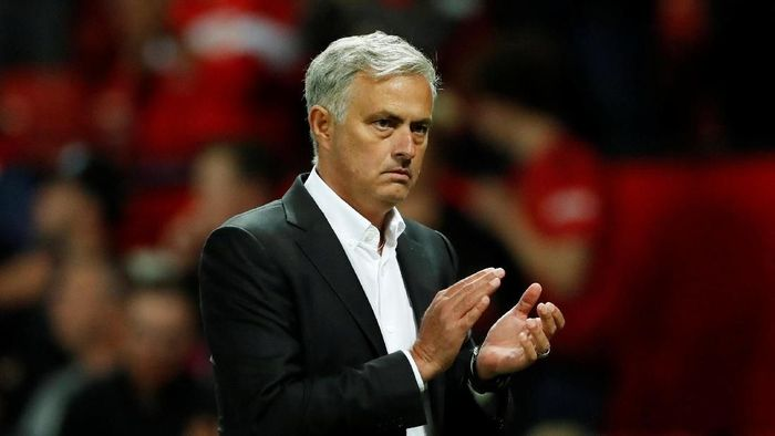 Manajer Manchester United, Jose Mourinho. (Foto: Action Images via Reuters/Andrew Boyers)