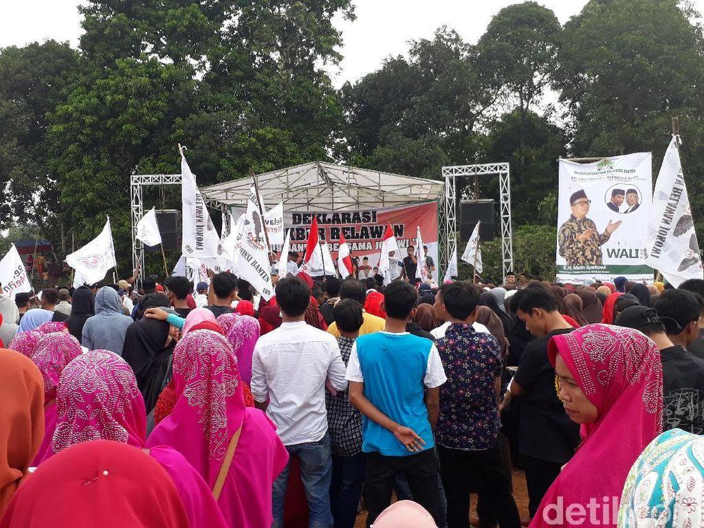 Relawan di Banten Dukung Jokowi 2 Periode