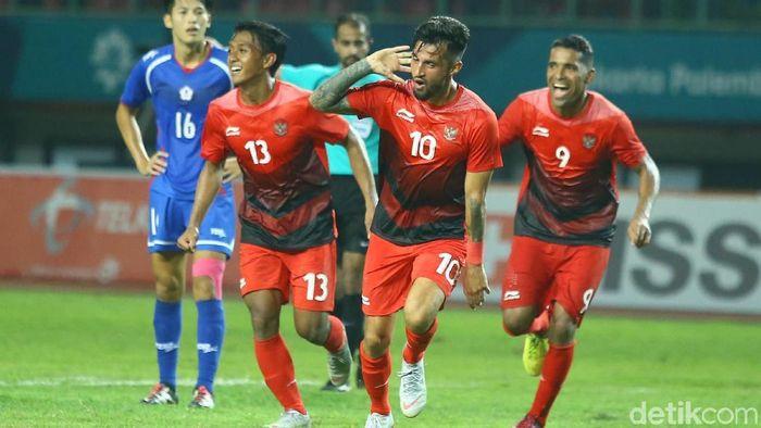 Stefano Lilipaly bakal jadi andalan Indonesia U-23 hadapi Palestina (Grandyos Zafna/detikcom)