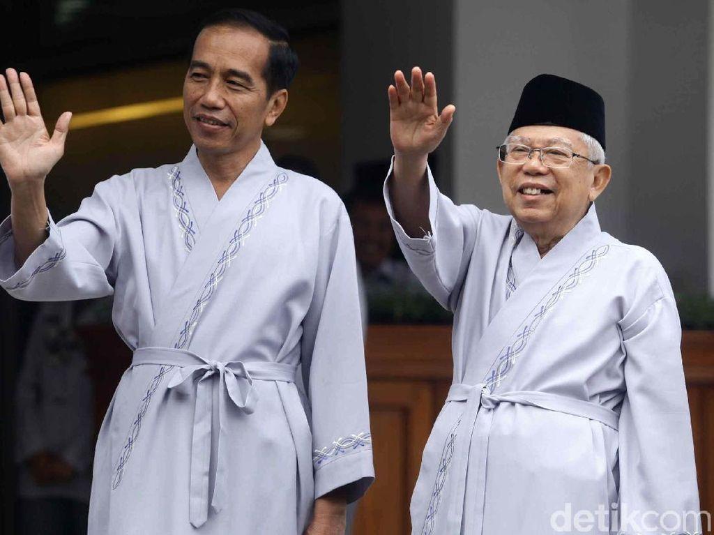 Lebih Mahal! Situs Jokowi-MaRuf Dilego Rp 2 Miliar