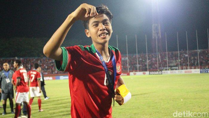 David Maulana diperkirakan sudah pulih dari cedera dan siap bermain (Suparno/detikSport)