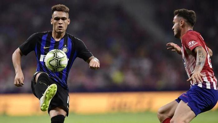 Inter Milan mengalahkan Atletico Madrid 1-0 di ajang International Champions Cup (Foto: Javier Soriano/AFP)