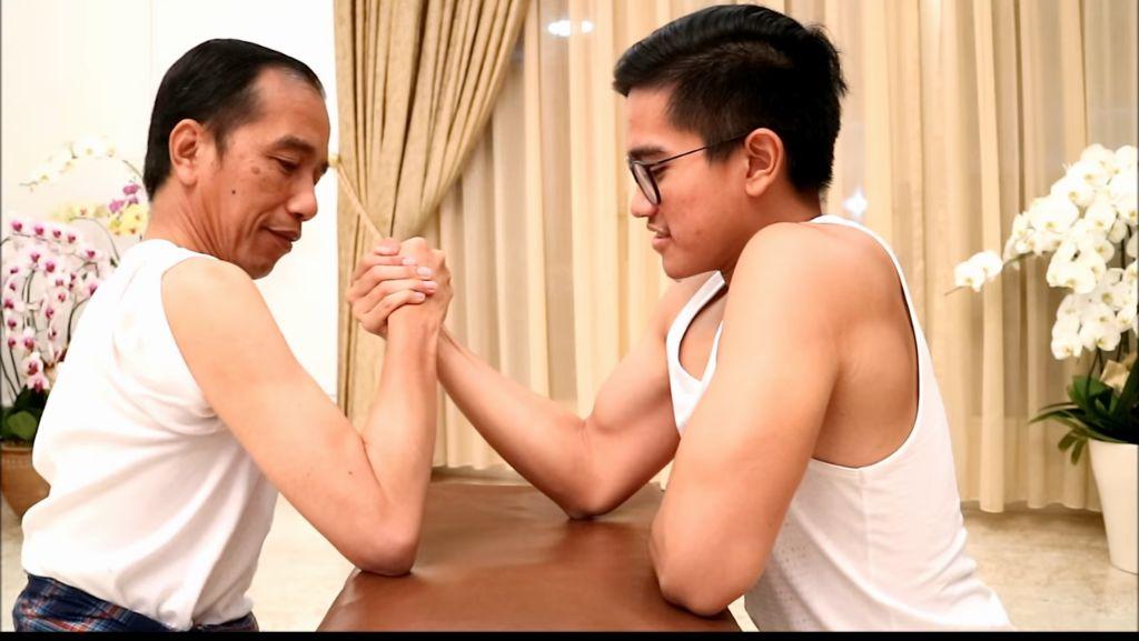 Sehat Banget! Melihat Kembali Saat Jokowi dan Kaesang Olahraga