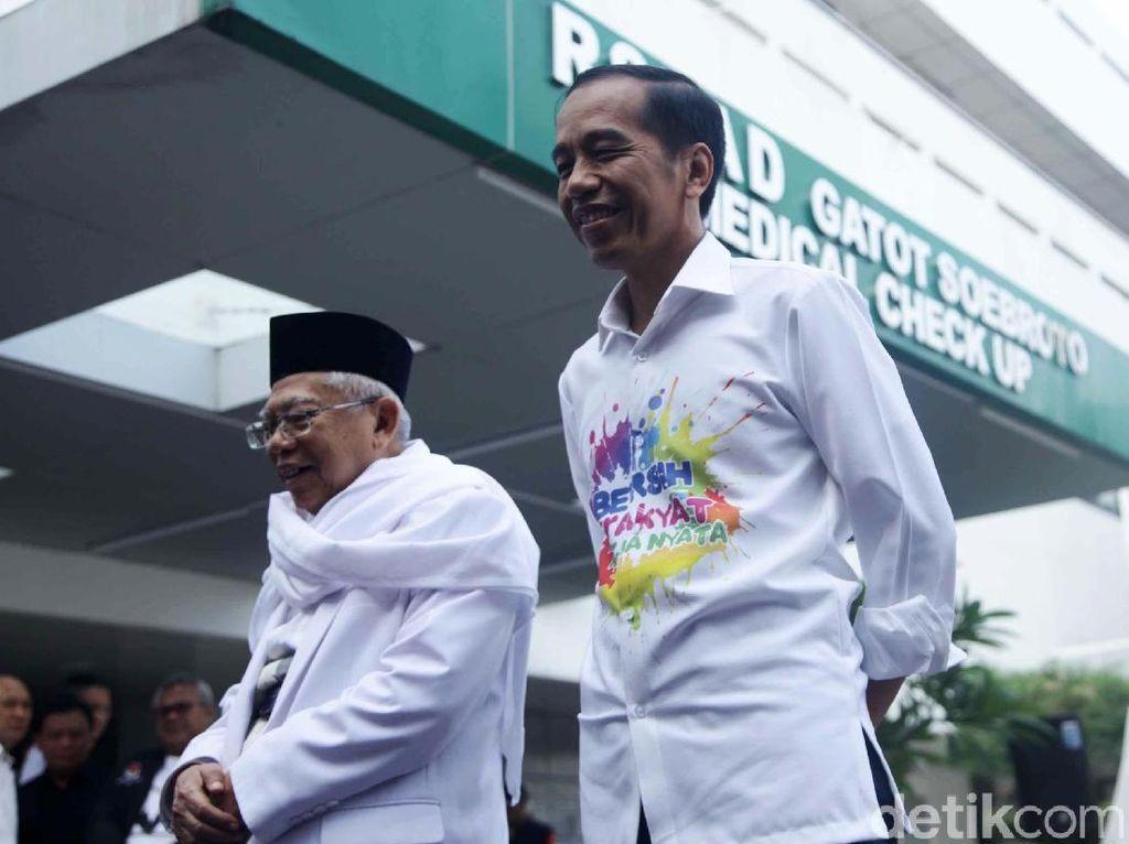 Jokowi-Maruf Tes Kesehatan, Ini Ragam Tes Kesehatan yang Mewajibkan Puasa