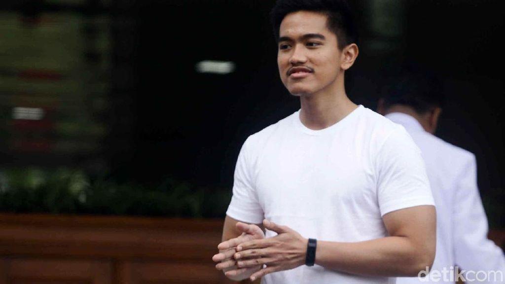 Potret Bodi Kekar Kaesang Saat Temani Jokowi Tes Kesehatan