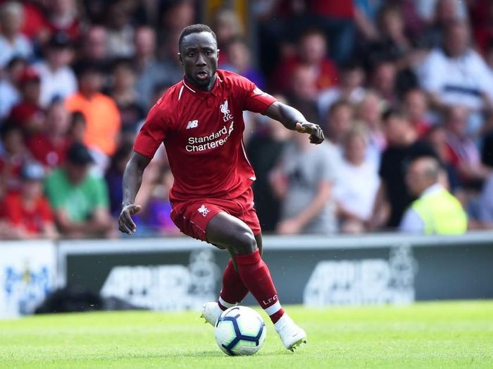 Naby Keita di Liverpool. (Foto: Nathan Stirk/Getty Images)