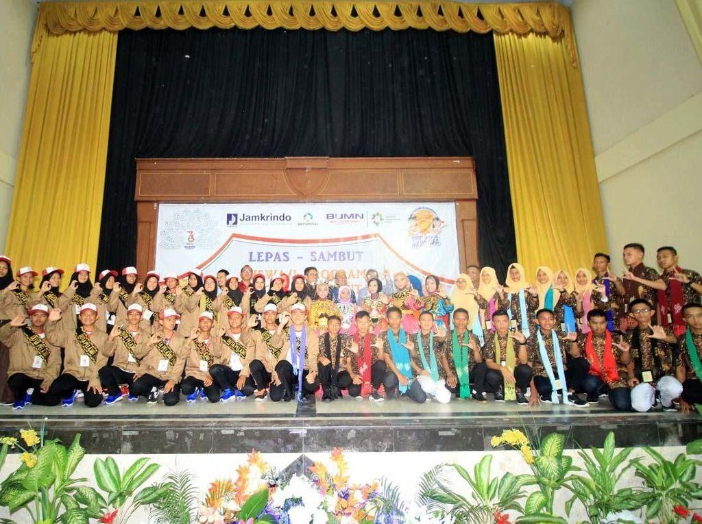 Siswa Mengenal Nusantara Jamkrindo di Gorontalo