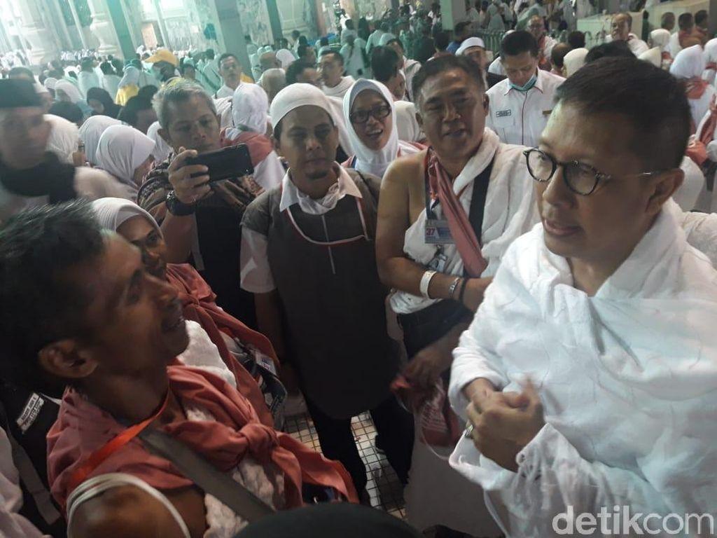 Menag Ajak Jemaah Haji Doakan Korban Gempa Lombok