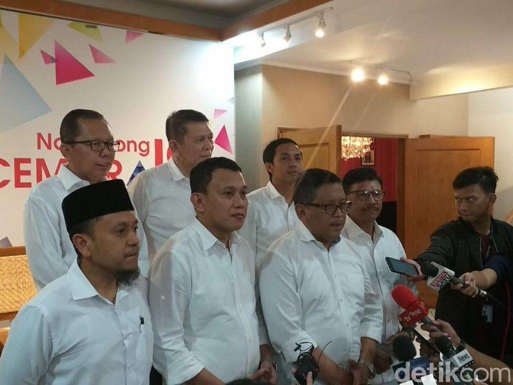 Sekjen Golkar-PPP-PKB-NasDem-Hanura Jadi Waka Tim Kampanye Jokowi
