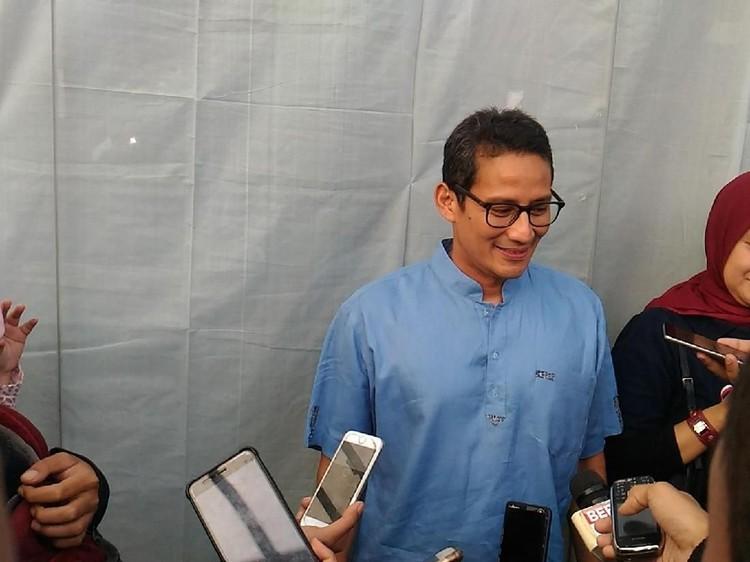 Alamat Situs Prabowo-Sandi Dijual Rp 1 M, Sandiaga: Mahal Banget