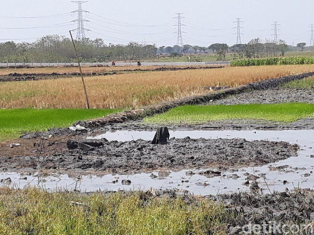 Semburan Air Bercampur Pasir Gegerkan Warga Ngawi Akhirnya Berhenti