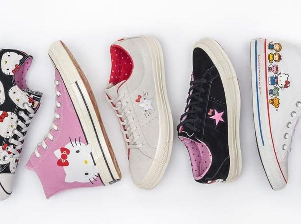 Converse Rilis Sneakers Buat Kamu Penggemar Hello Kitty