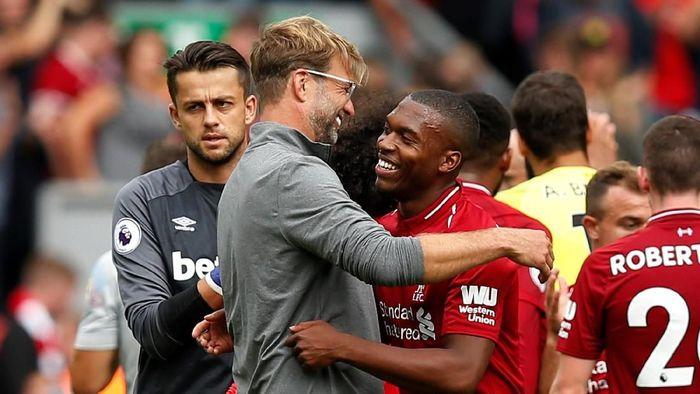 Liverpool memuncaki klasemen Liga Inggris usai pekan pertama (Foto: Andrew Yates/REUTERS)