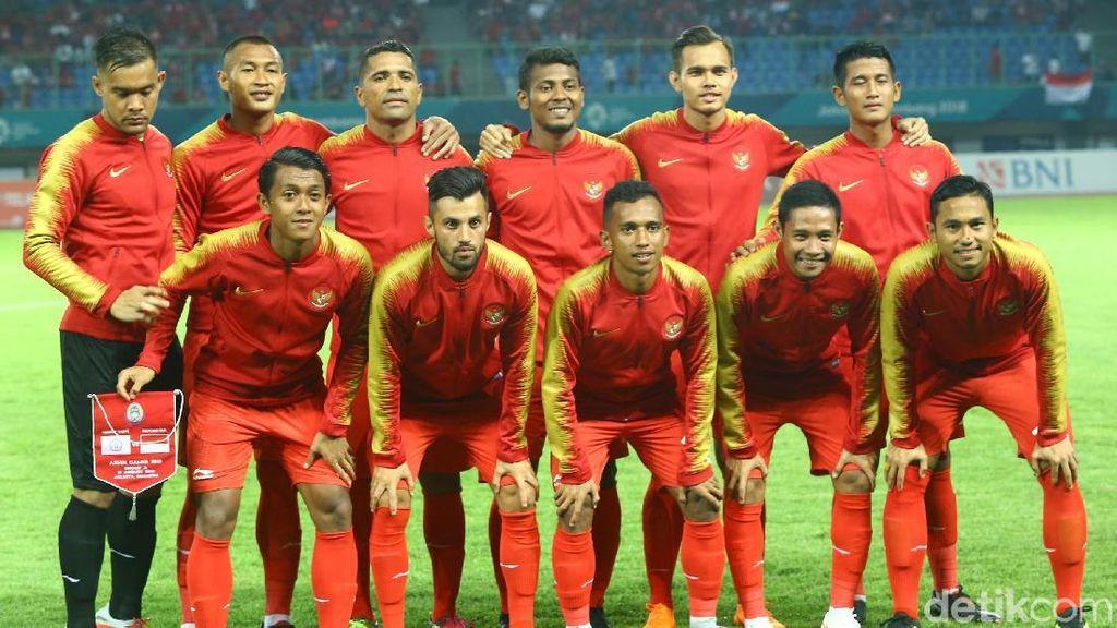 Jadwal Sepakbola Asian Games 2018: Indonesia Jumpa Laos