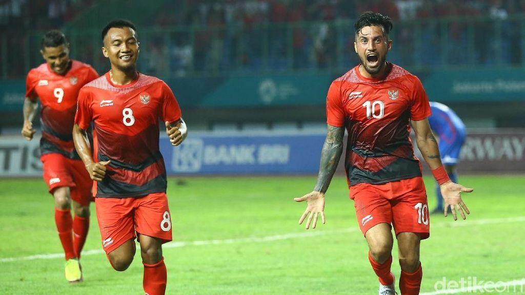Garuda Muda Perkasa di Laga Perdana Asian Games 2018