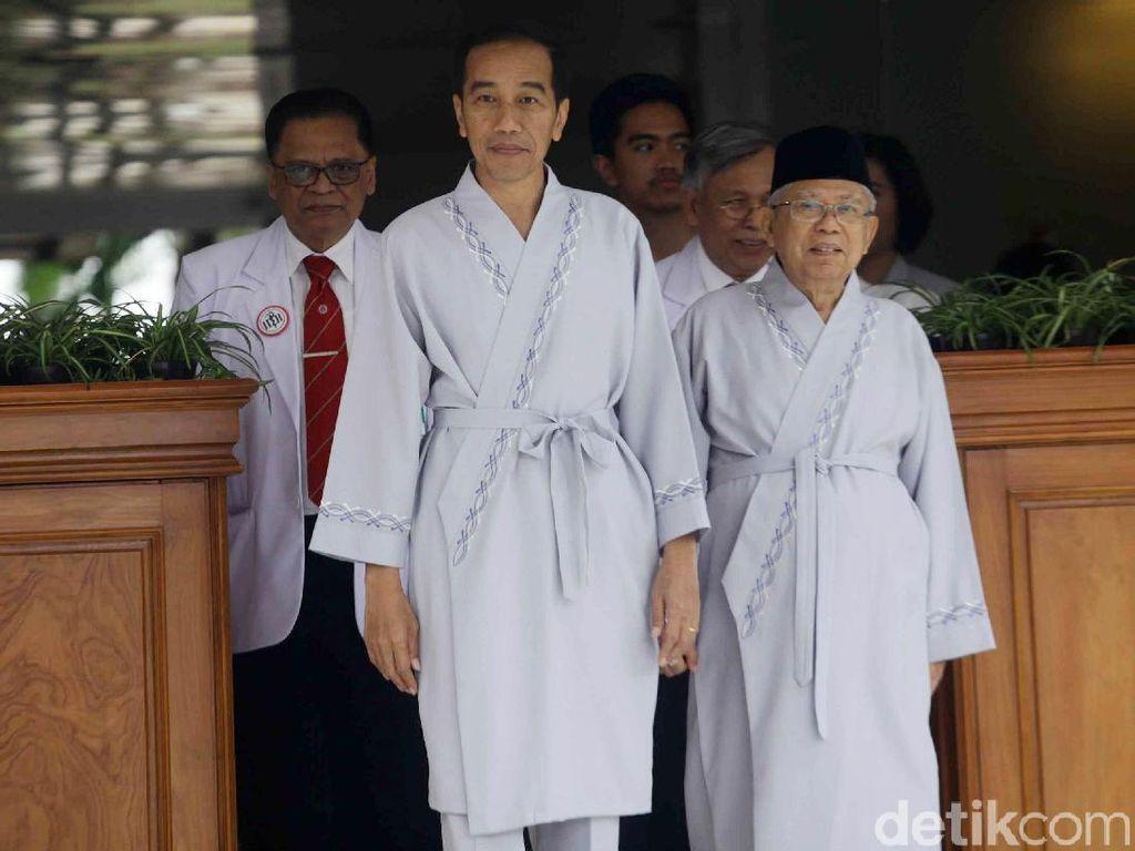 Cerita Jokowi-Maruf yang Anti-Capek Tes Kesehatan 12 Jam Lebih