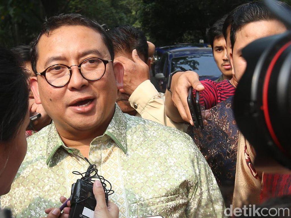 Fadli Zon Sudah Duduk di Kursi Empuk MPR Saat Demo Mahasiswa 98