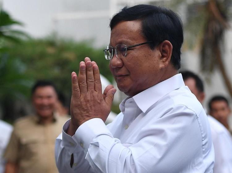 Bakal Dipakai Pilpres, Galang Perjuangan Prabowo Capai Rp 1,8 M