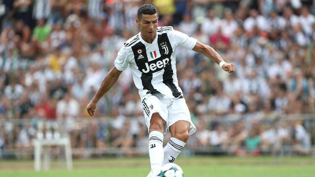 Tujuh Menit Main, Ronaldo Langsung Bikin Gol untuk Juve