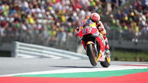 Ada Tikungan Marc Marquez di MotoGP Aragon
