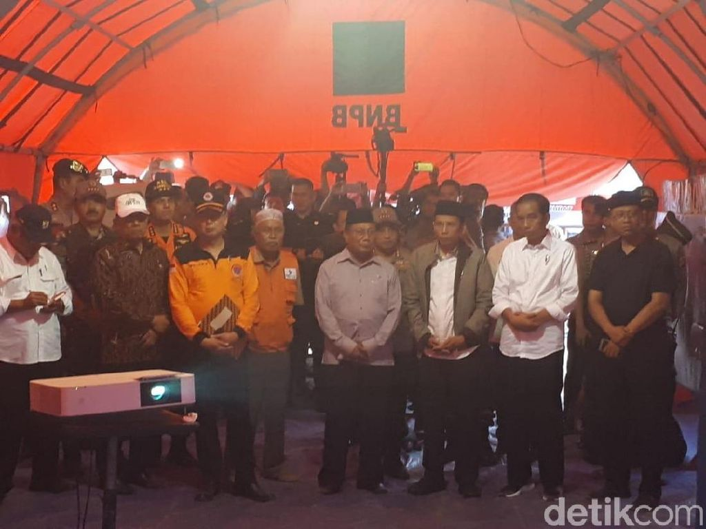 Kunjungi Korban Gempa NTB, Jokowi akan Menginap di Tenda