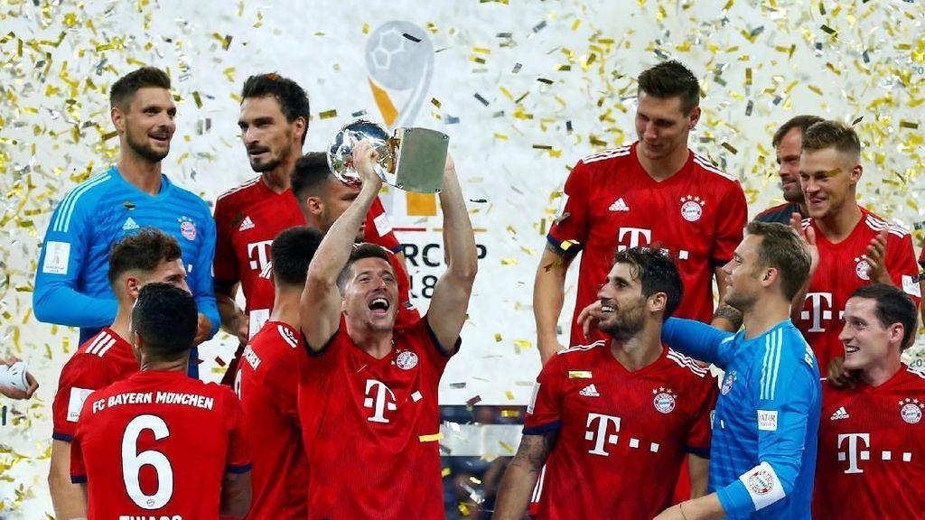 Bayern Rayakan Gelar Juara Piala Super Jerman 2018