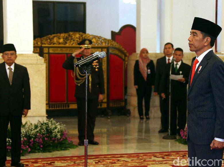 9 Gubernur dan Wakil Gubernur Resmi Dilantik Jokowi di Istana