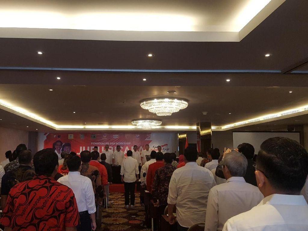 Elite Parpol hingga Artis Ikuti Pembekalan 100 Jubir Jokowi-Maruf