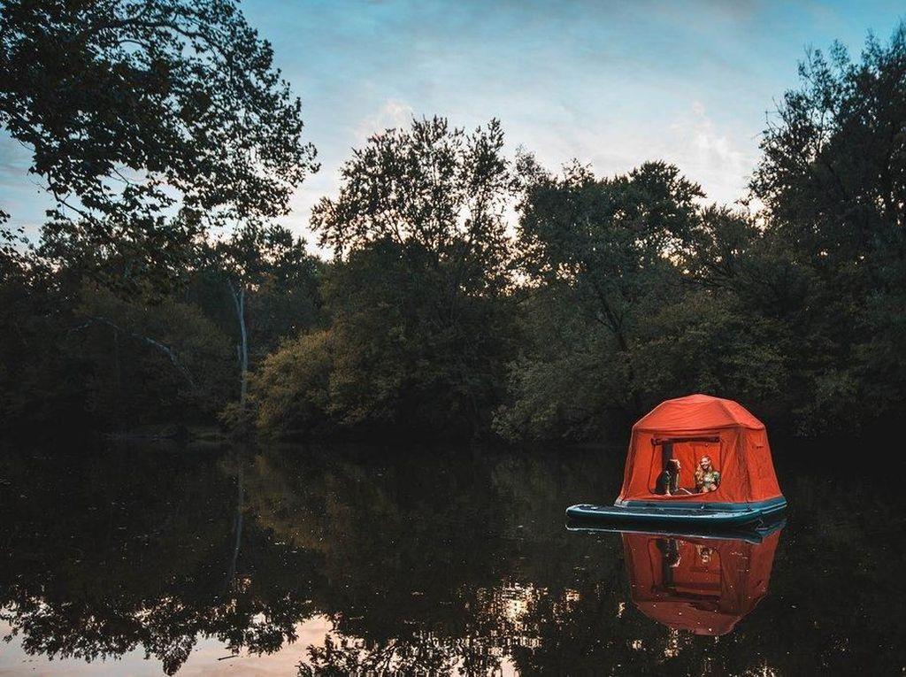 Foto: Tenda Mengapung Pertama di Dunia