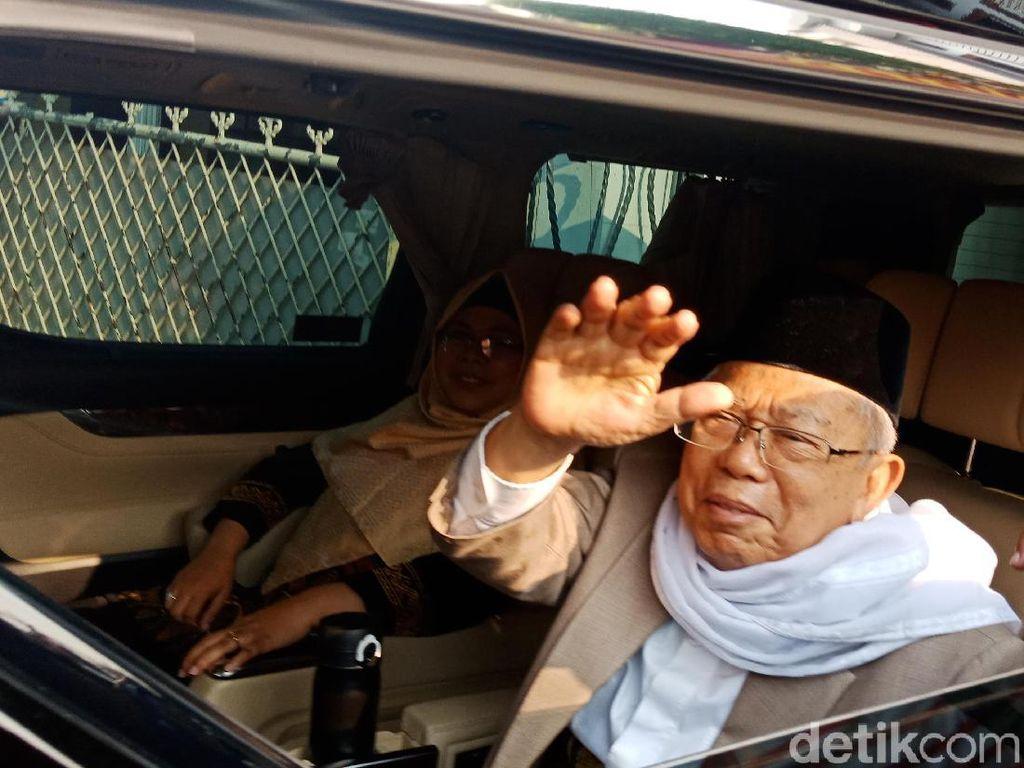 Luhut Sebut Maruf Amin Bisa Bikin Investor Asing Betah di Indonesia