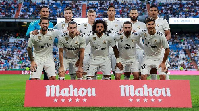 Real Madrid bertekad memenangi Piala Super Eropa kontra Atletico Madrid tengah pekan ini. (Foto: Gonzalo Arroyo Moreno/Getty Images)