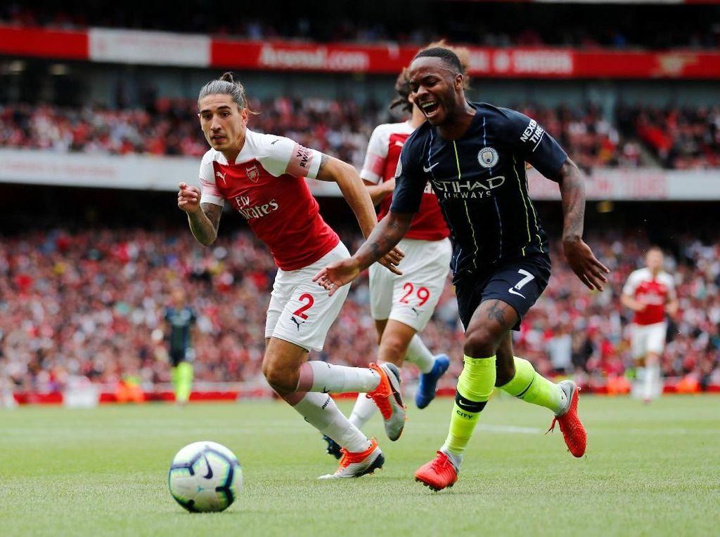 Guardiola: City Bisa Jebol Gawang Arsenal Lebih Banyak