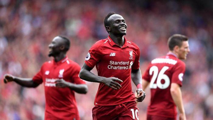 Liverpool awali musim dengan kemenangan telak 4-0 atas West Ham United. (Foto: Laurence Griffiths/Getty Images)