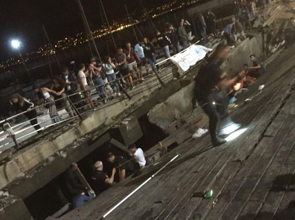 Dermaga di Spanyol Ambruk Saat Festival Musik, 266 Orang Luka-luka