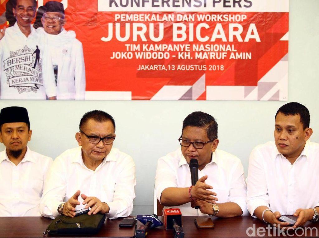 Tangkal Hoax, Timses Jokowi Bentuk Tim Siber Hadapi Isu di Medsos