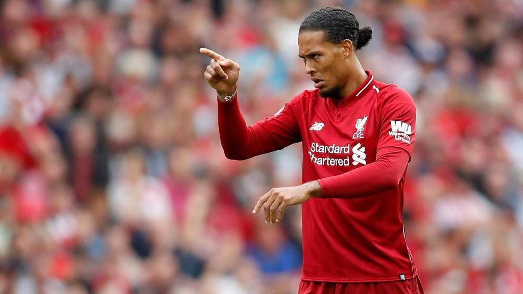 Van Dijk yang Ambisius Ingin Raih Quadruple Bareng Liverpool Musim Ini