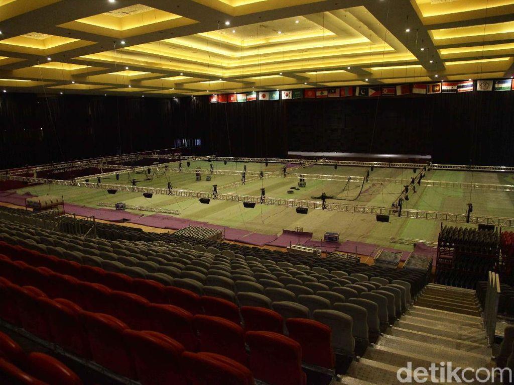 Lima Hari Jelang Asian Games 2018, Venue Senam Belum Siap
