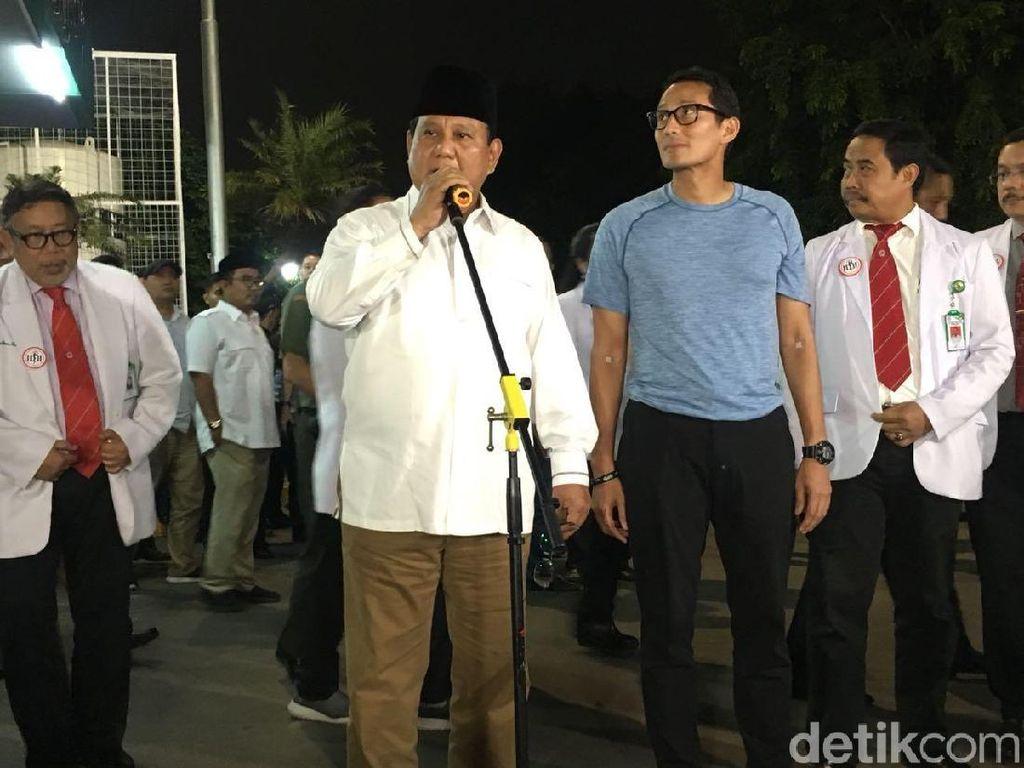Dokter Minta Prabowo Kurangi Berat Badan 5 Kg