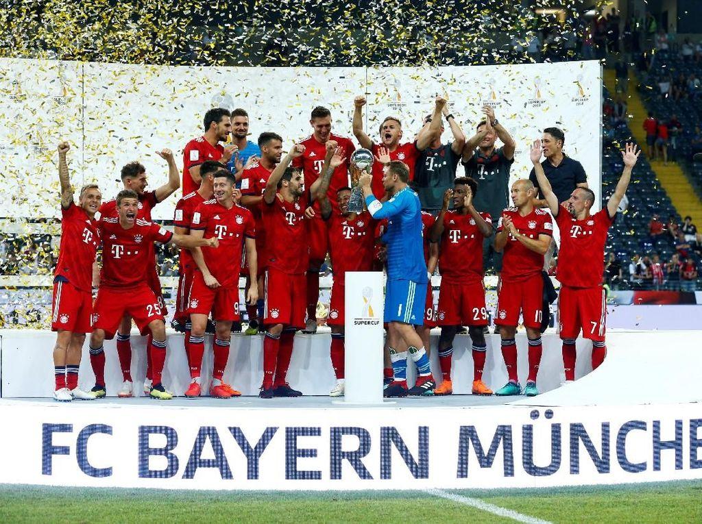 Hat-trick Juara Piala Super Jerman, Bayern Tegaskan Dominasi