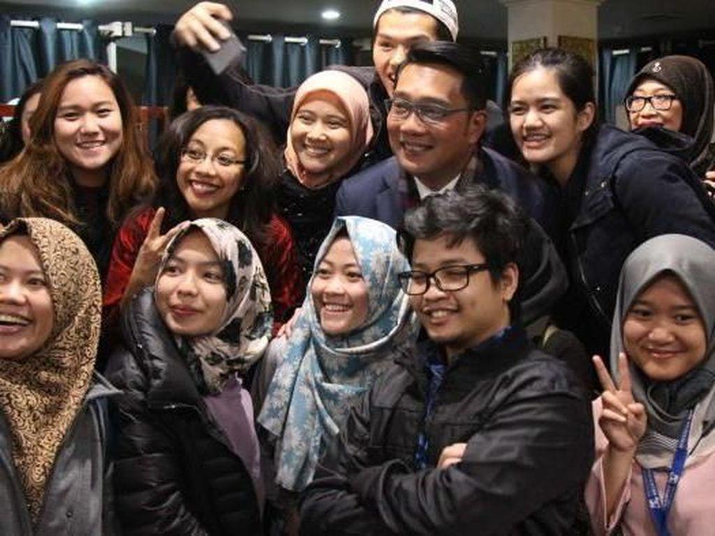Ridwan Kamil di Melbourne Serukan Menjaga Kekompakan