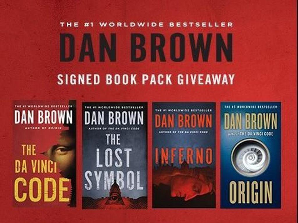 Edisi Terbaru Buku-buku Dan Brown Dicetak Ulang Lebih Misterius