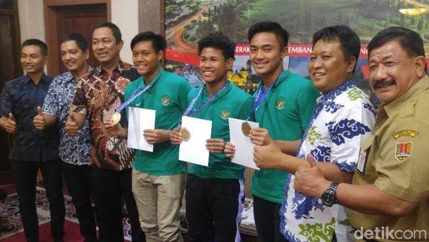 Pemain Timnas U-16 Berbagi Kisah ke Wali Kota Semarang