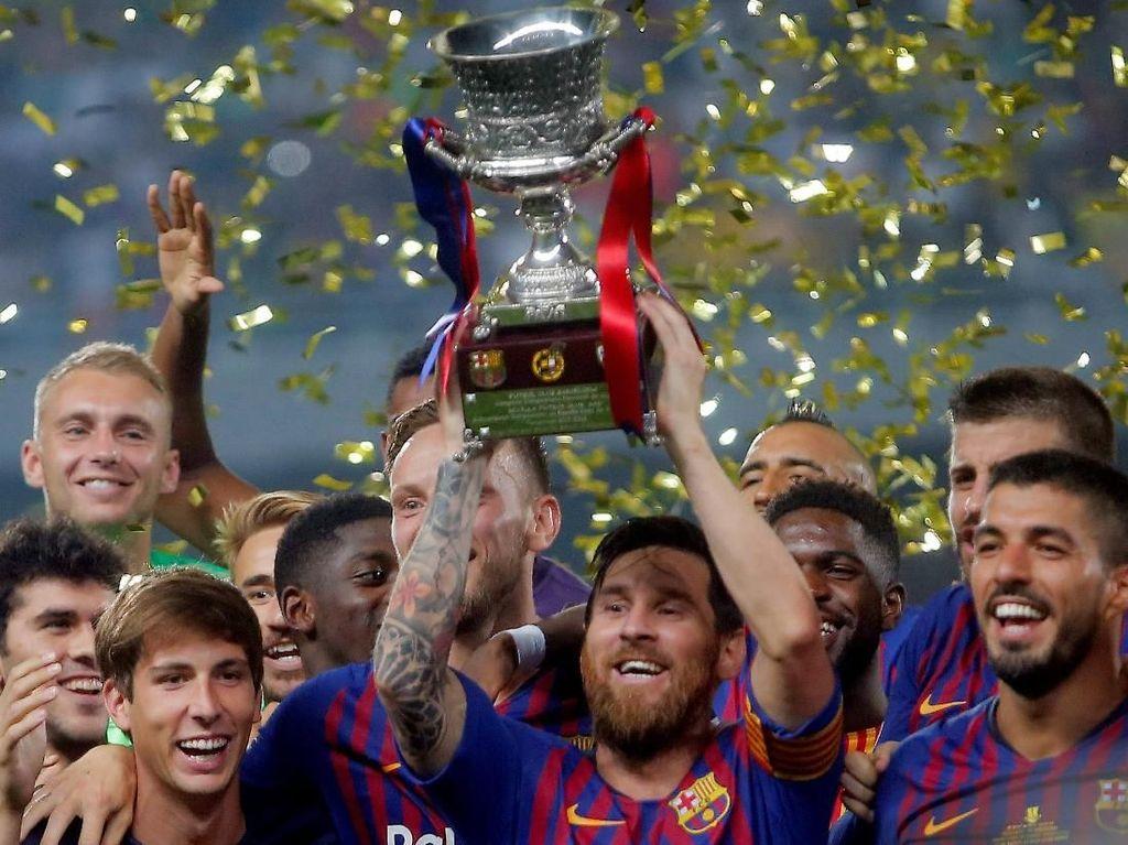 Lionel Messi, Pemain Barca dengan Gelar Juara Terbanyak