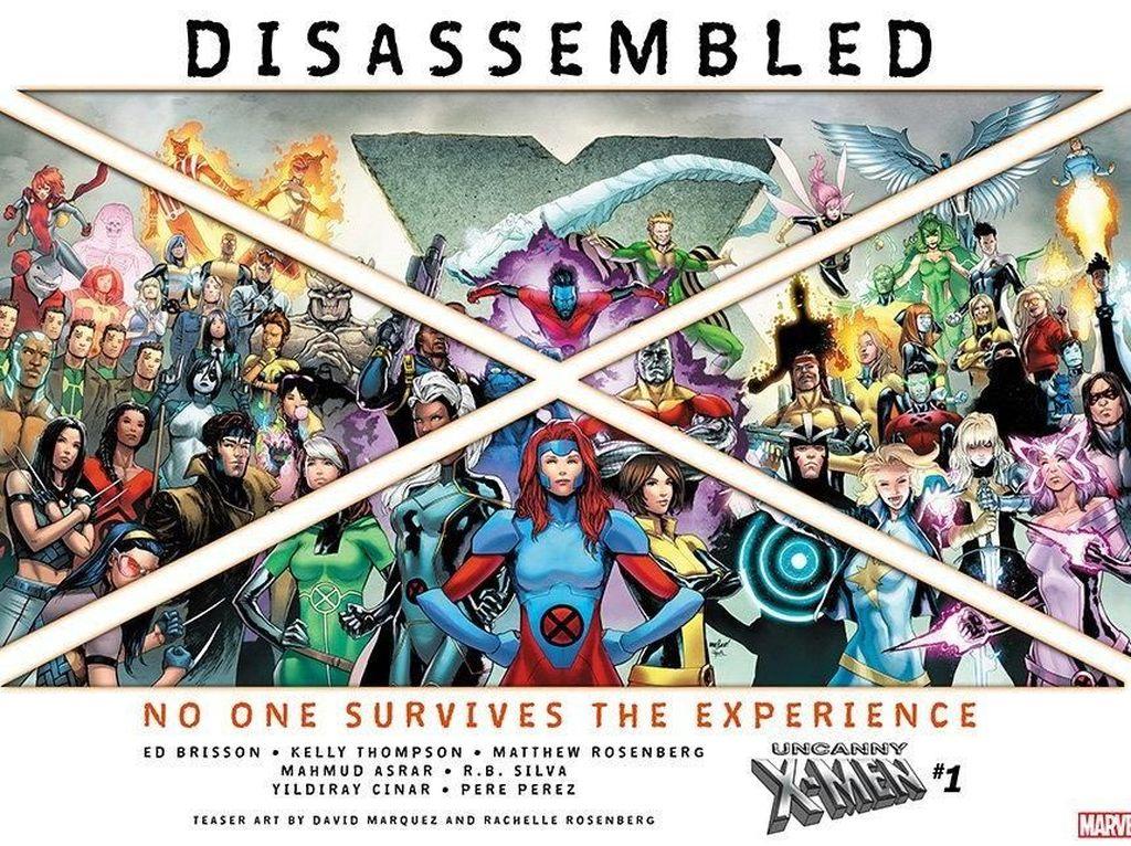 Disney Akuisisi Fox, Marvel Comics Perbarui Tim Kreatif X-Men