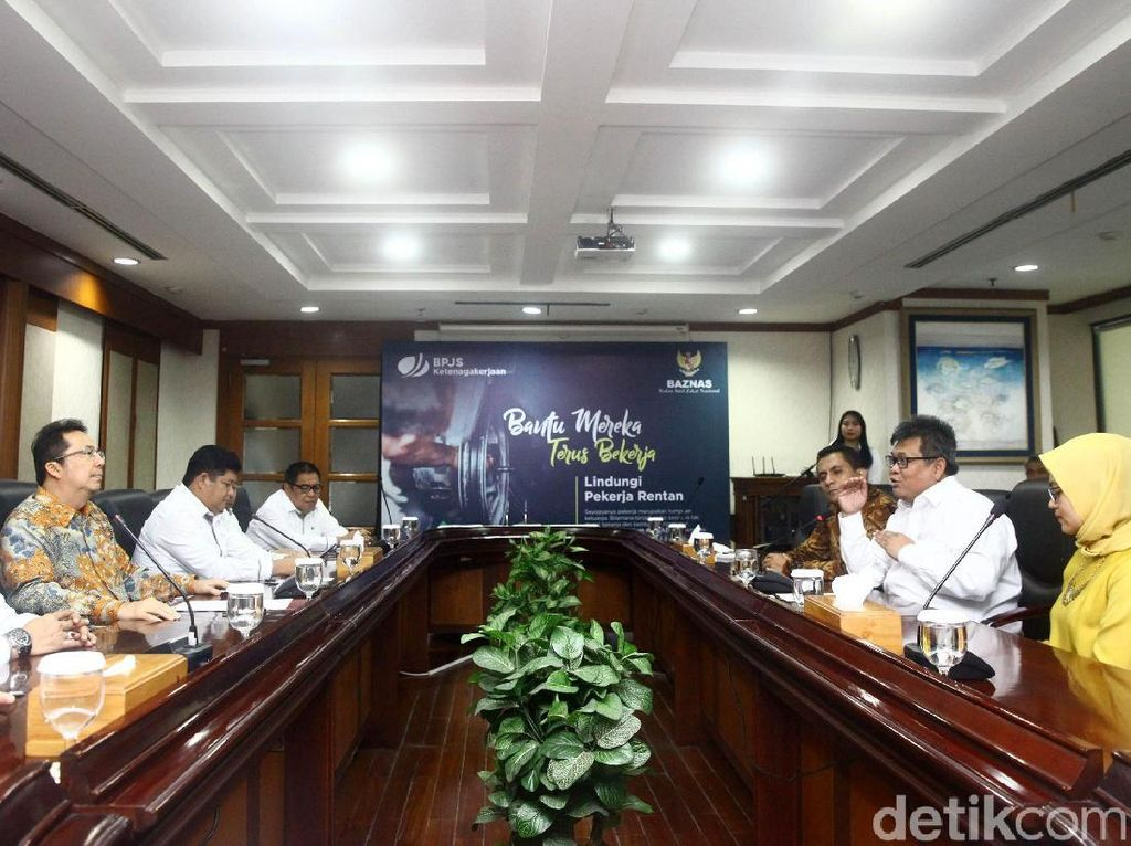 BPJS Ketenagakerjaan Gandeng Baznas Lindungi Pekerja Sektor BPU