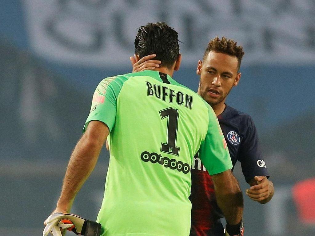 Neymar Cetak Gol dan Buffon Clean Sheet di Laga Perdana PSG
