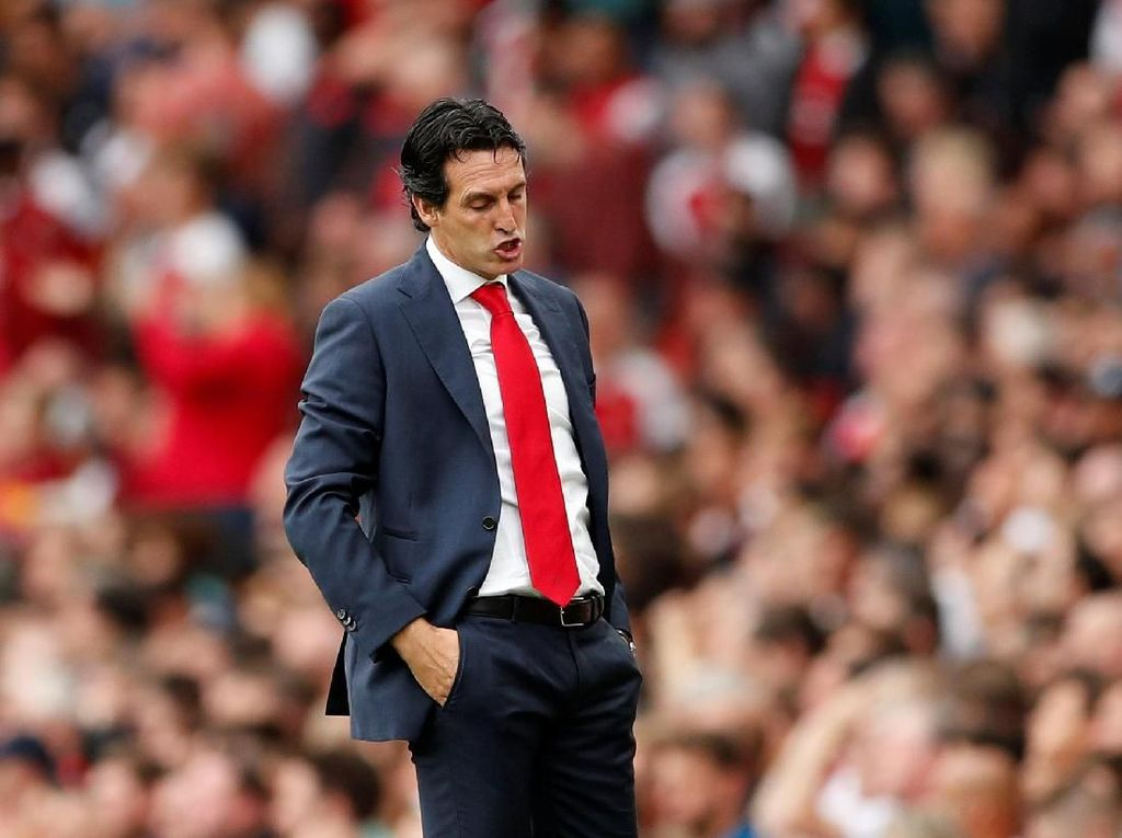 Emery Masih Nol Kemenangan atas Guardiola
